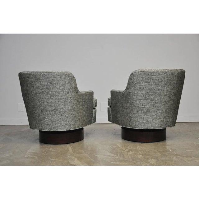 Dunbar Swivel Chairs by Edward Wormley - Image 5 of 6