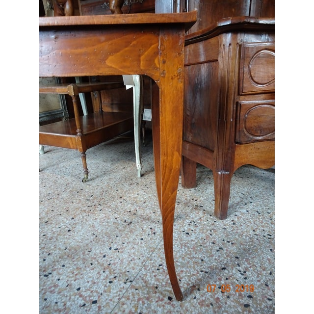 Mid 19th Century French 19th Century Side Table For Sale - Image 5 of 12