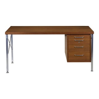 Mid-Century Modern Executive Desk by Hans Wegner for Johannes Hansen Circa 1960s For Sale