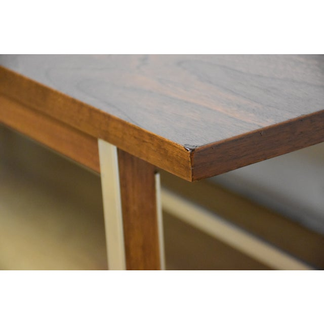Brown Paul McCobb for Calvin Walnut Coffee Table For Sale - Image 8 of 8