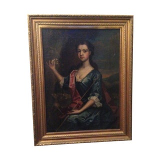 Antique British Oil Painting