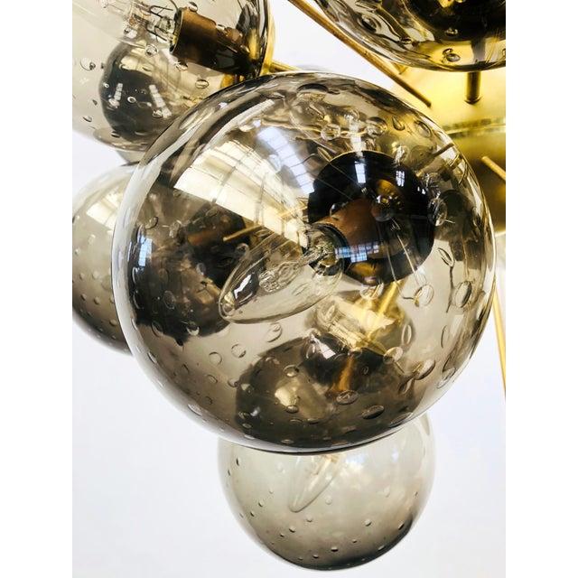 Metal Ventiquattro Sputnik Chandelier by Fabio Ltd For Sale - Image 7 of 13