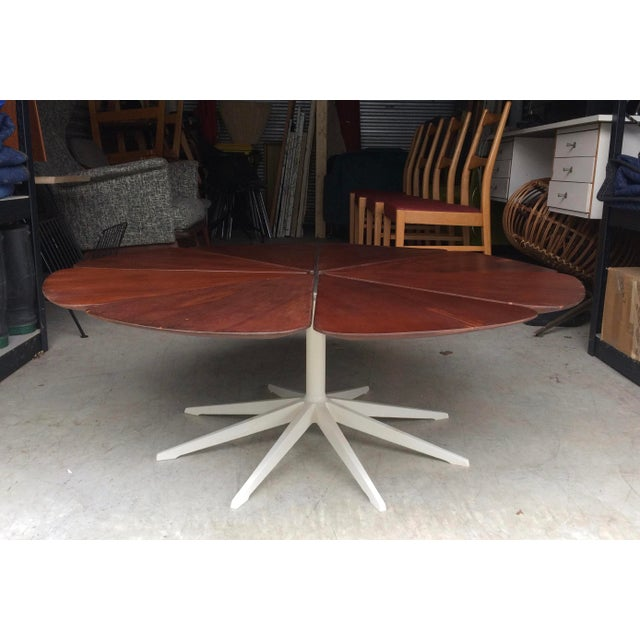 Rosewood Richard Schultz Knoll Petal Coffee Table 1960's For Sale - Image 7 of 7