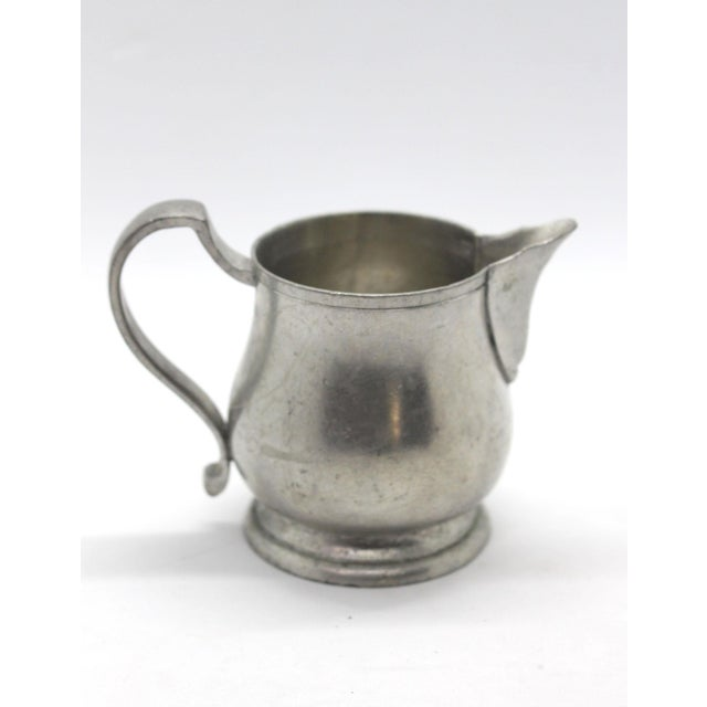 Pewter Creamer by Match Italian Pewter For Sale In Los Angeles - Image 6 of 6