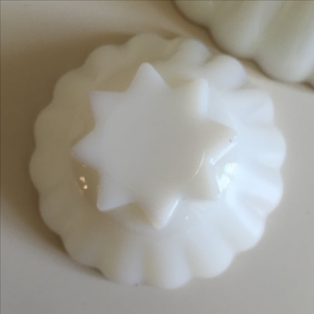 Classic Milk Glass Anchor Hocking Bowl Set - Pair - Image 9 of 10