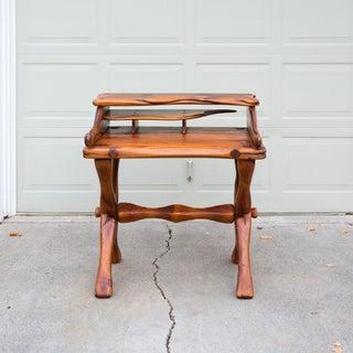 Vintage Rustic Studio Crafted Artisan Desk Preview