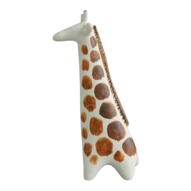 Vintage Arabia Finland Ceramic Giraffe Figure For Sale