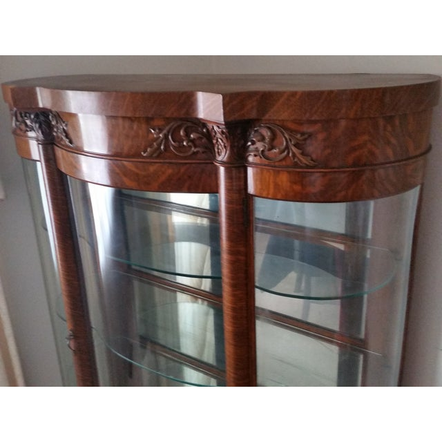 1900s Antique China Cabinet - Image 5 of 6