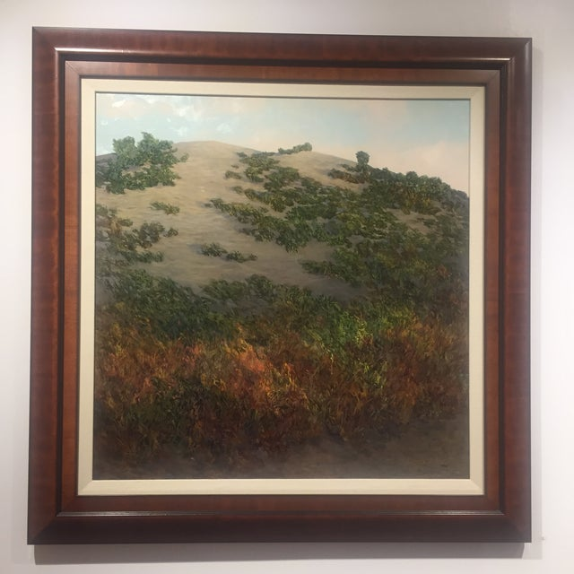 """Morning Reaches the Dune"" Painting For Sale In New York - Image 6 of 8"