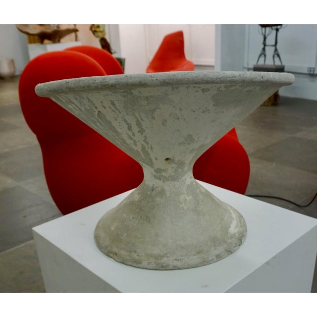 Mid-Century Modern 1960's Off Kilter Planter by by Willy Guhl For Sale - Image 3 of 8