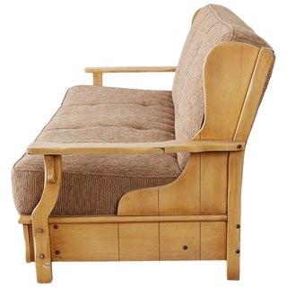 California Rancho Monterey Wingback Sofa by Frank Mason For Sale