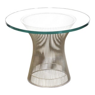 Warren Platner for Knoll End Table For Sale