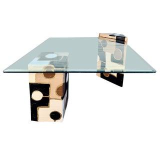Art Deco Custom Art Coffee Table For Sale