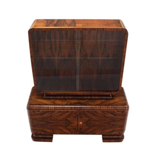 Outstanding Rosewood Art Deco Cabinet For Sale