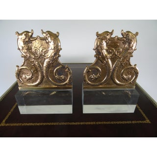 19th Century French Mounted Dolphin Plaques - a Pair Preview