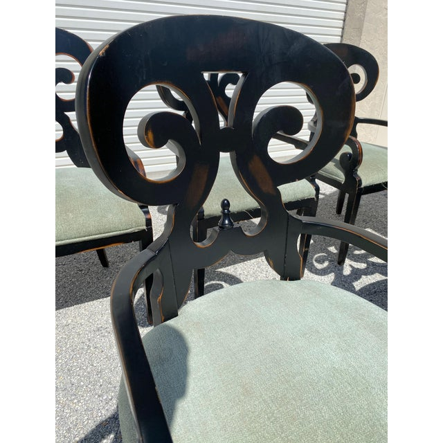 Mid Century Modern Wood Dining Chairs - Set of 5 For Sale In West Palm - Image 6 of 11
