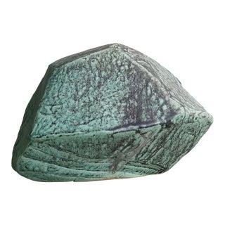 Studio Pottery Gemstone Sculpture Signed Chapman For Sale