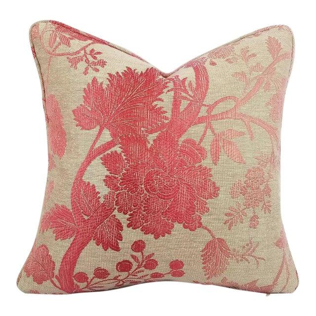 Nina Campbell for Osborne Little Amazonas Self-Welt Backed Casamance Pillow Cover For Sale