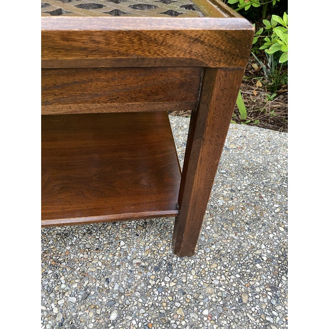 Wood 1970s Hollywood Regency Style Coffee Table For Sale - Image 7 of 8
