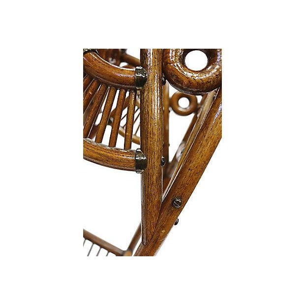 Antique Oak Umbrella Stand For Sale - Image 4 of 6