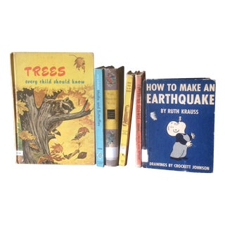 Mid-Century Children's Educational Books - 6 For Sale