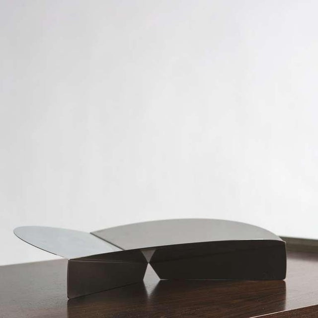 Steel Centerpiece by Grignani for Luci For Sale - Image 6 of 8