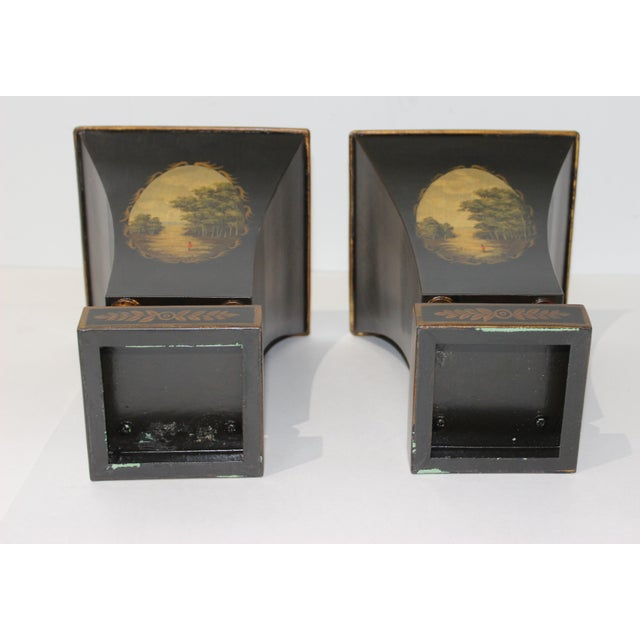 Vintage Dark Green Cachepot - a Pair For Sale In West Palm - Image 6 of 9