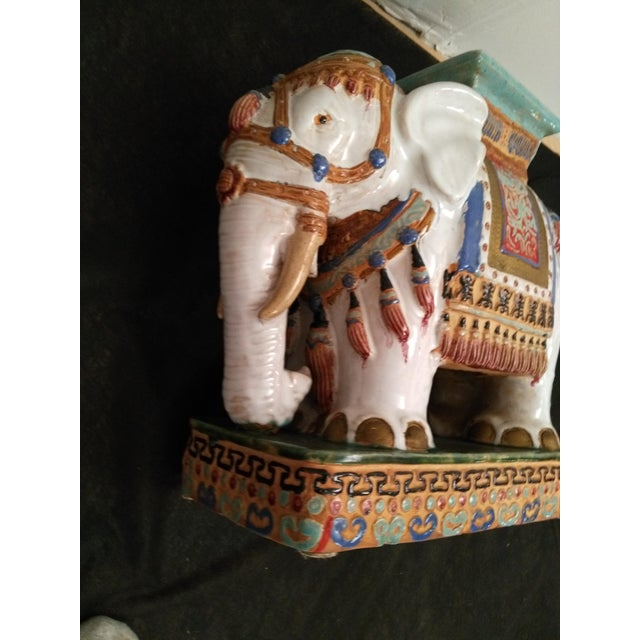 Elephant Decorative Plant Stand - Image 11 of 11