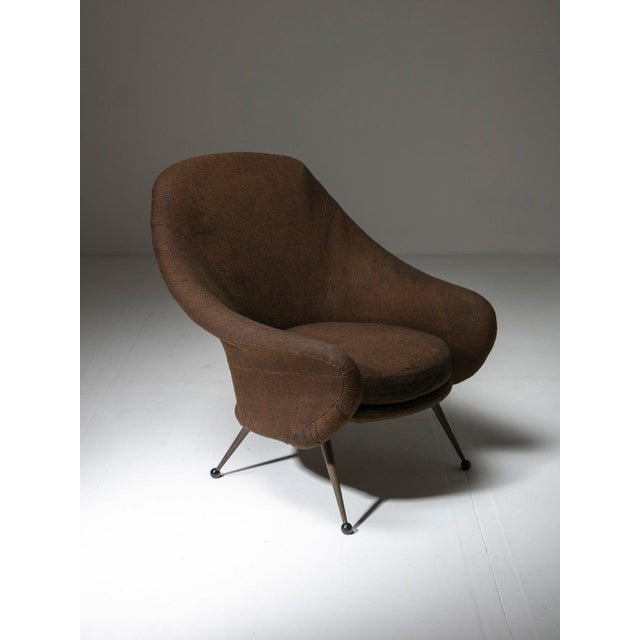 """Martingala"" Lounge Chair by Marco Zanuso for Arflex For Sale - Image 6 of 6"