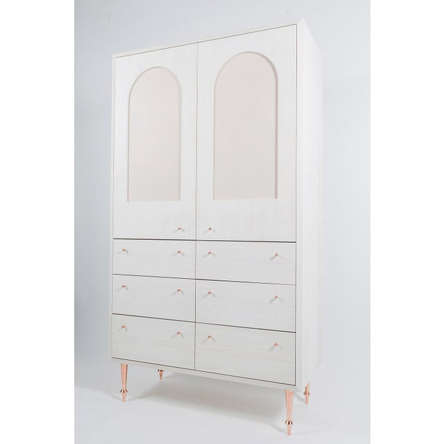 Contemporary Volk Furniture Pacific Armoire For Sale - Image 3 of 4