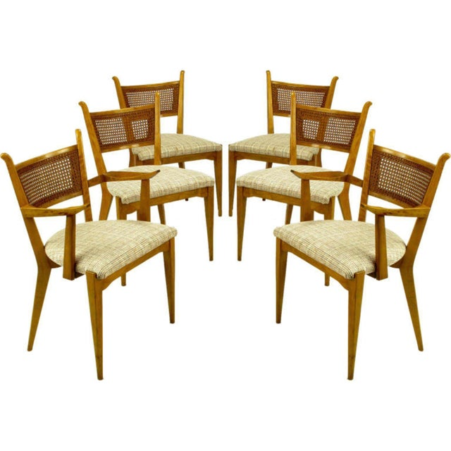 Set Six Edmond Spence Swedish Dining Chairs For Sale - Image 11 of 11