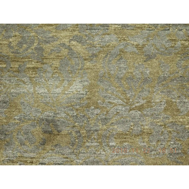 """Hand-Knotted Contemporary Rug - 6'x 9'5"""" - Image 6 of 10"""