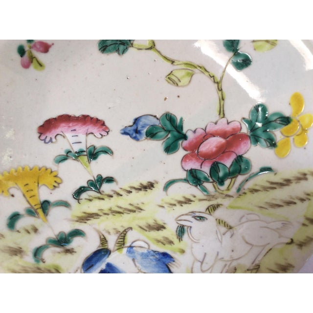 C. 1800's Chinese Decorative Plates - A Pair - Image 5 of 8