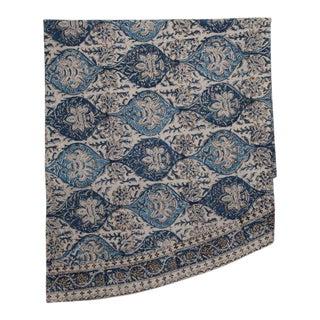 Mehrab Round Tablecloth - Indigo For Sale