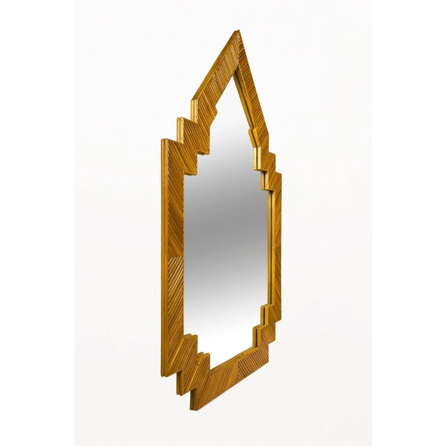 Wall Mirror, circa 1970, France Details : Dimensions : Height: 54 in. (137.16 cm)Width: 36 in. (91.44 cm)Depth: 1 in....