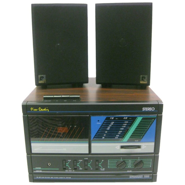 AM/FM/Cassette Stereo by Pierre Cardin For Sale