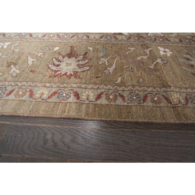 "Persian Sultanabad Rug - 6'4"" x 16'5"" - Image 9 of 10"