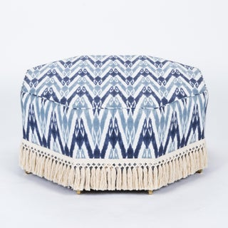 Casa Cosima Istanbul Cocktail Ottoman in Ikat Preview
