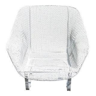 Vintage Russell Woodard Mid- Century Sculptura Spring Chair
