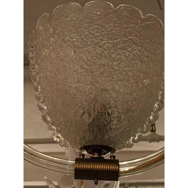 Italian Italian Ercole Barovier Chandelier For Sale - Image 3 of 6