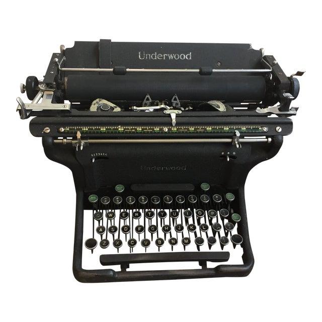 1920s Vintage Underwood Typerwriter For Sale