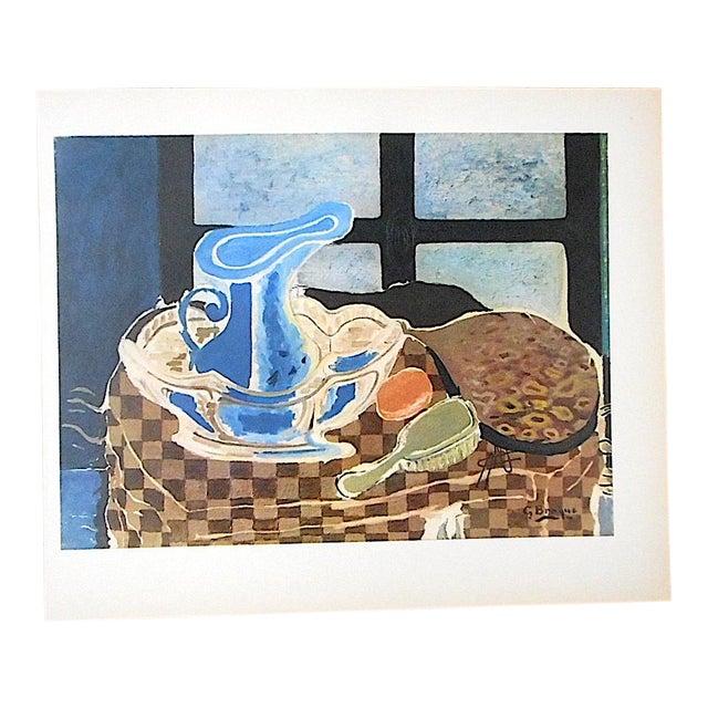 Vintage Mid-Century Braque Lithograph For Sale