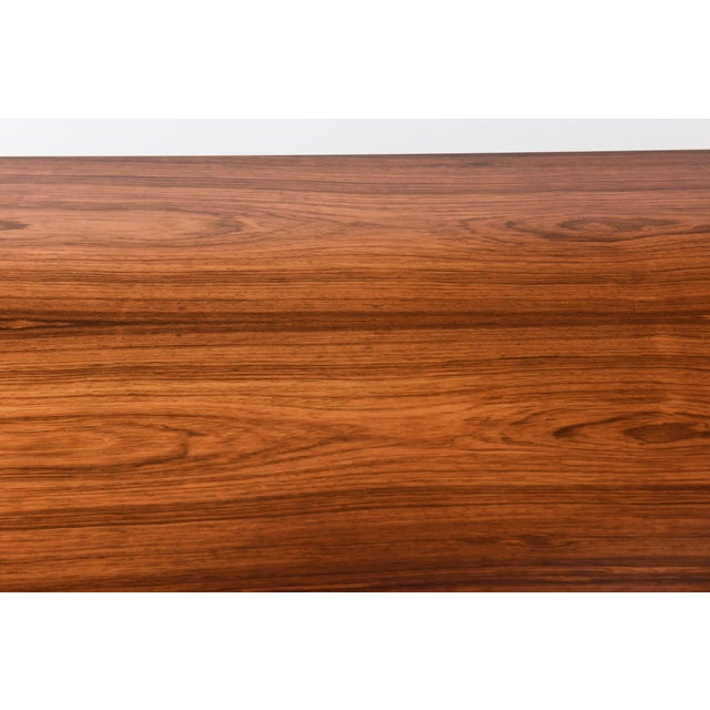 Architectural Larry Lazlo/ Bexley Heath for Widdicomb Square Rosewood Center Table For Sale - Image 10 of 10