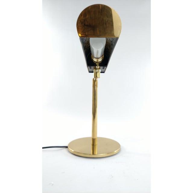 Vintage Restored Brass Desk Lamp - Image 4 of 7