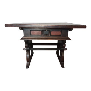 18th Century Swiss Kitchen Work Table For Sale