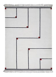 Image of Fabric Contemporary Handmade Rugs