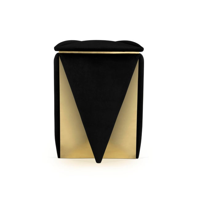 Prisma Stool From Covet Paris For Sale - Image 9 of 9