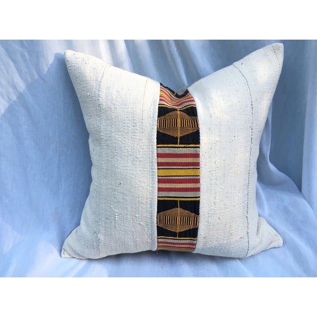 African Mud Cloth Pillow - Image 2 of 5