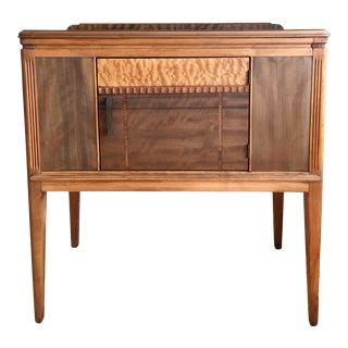 Art Deco Exotic Wood Server For Sale