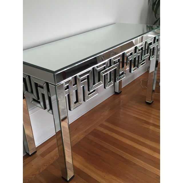 Mirrored Designer Console Table - Image 3 of 7
